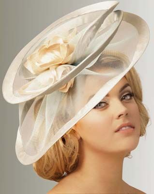 Judy Bentinck, London Milliner SS13. POST YOUR FREE LISTING TODAY!   Hair News Network.  All Hair. All The Time.  http://www.HairNewsNetwork.com/