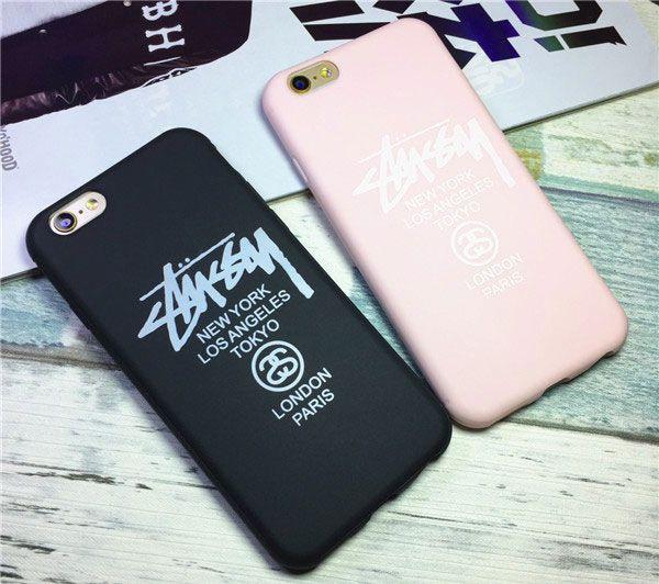 STUSSY Iphone7/7plus ケース個性的 ファッションブランド ステューシーIPhone6/6Sカバー TPU ソフトケース