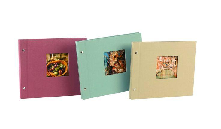goldbuch Fotoalbum Bella Vista Trend als mittelgroßes, erweiterbares Schraubalbum