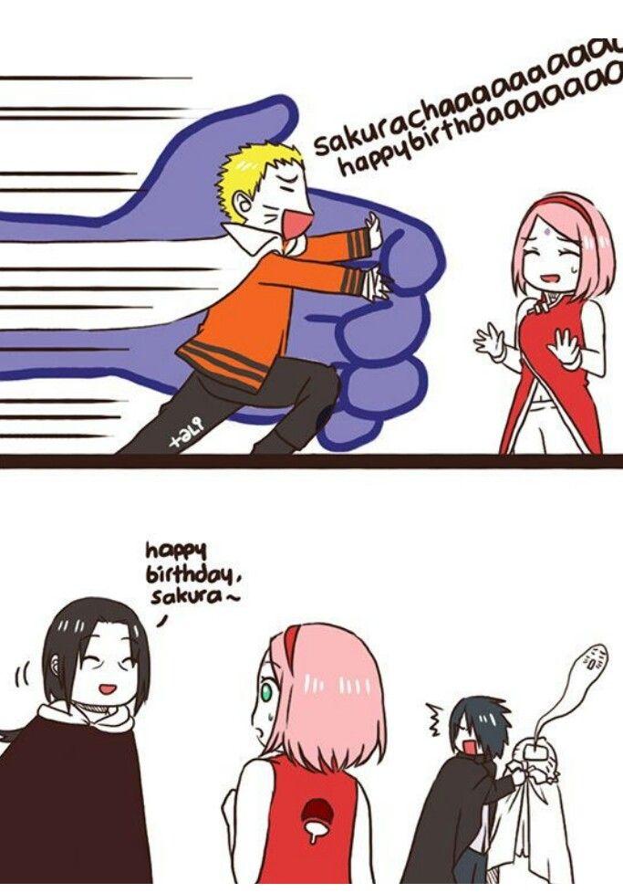 Jajajajajaja no salio como él quería al menos el cuñadito se lo dijo - que celoso es Sasuke :3 -