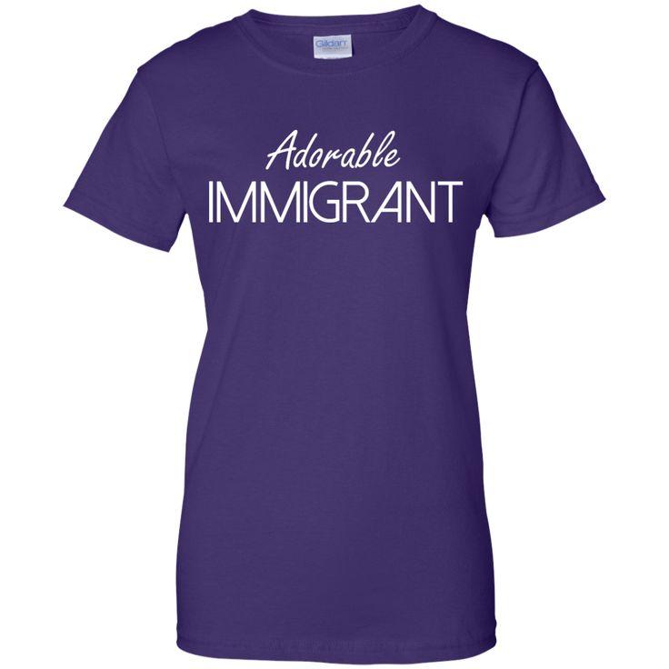 Adorable Immigrant shirt, sweatshirt, raceback