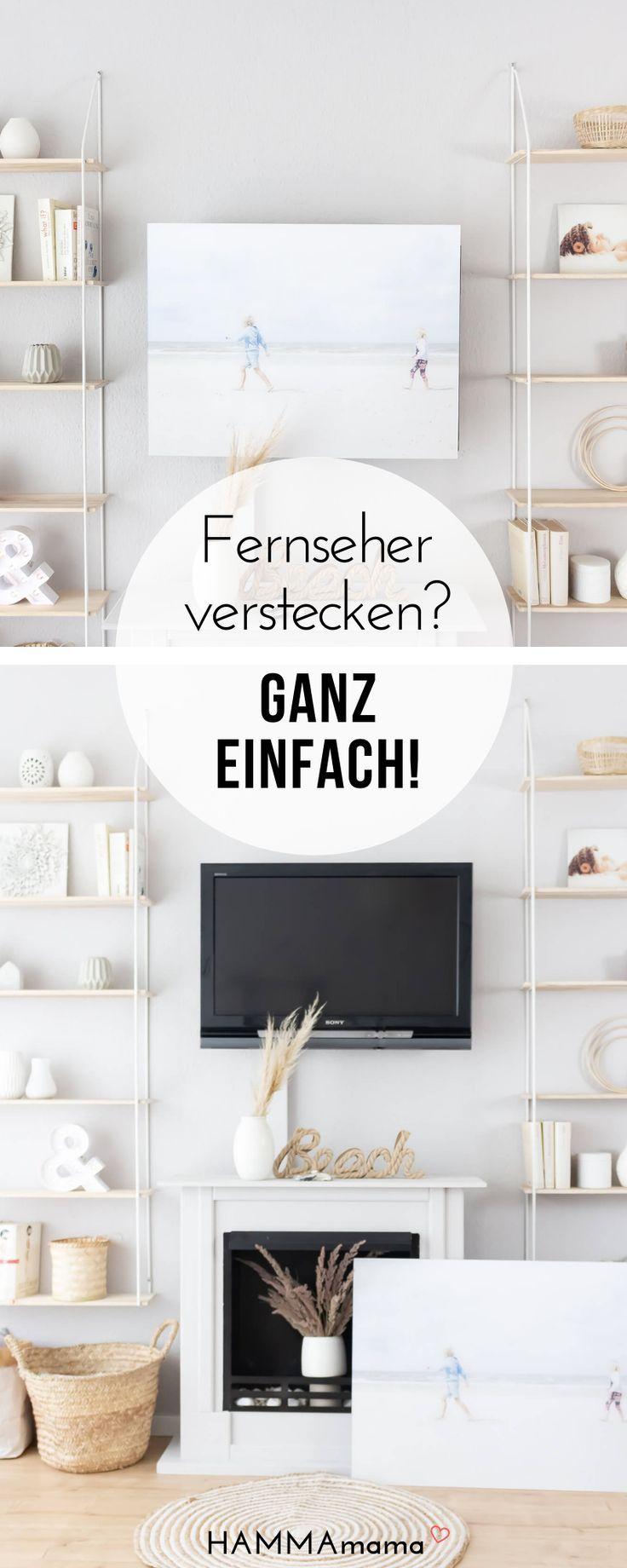 Den Fernseher Verstecken Mit Posterxxl Die Frage Was Macht Einen Ort Zu Einem Zuhause Fernseher Verstecken Fernseher Tv Home