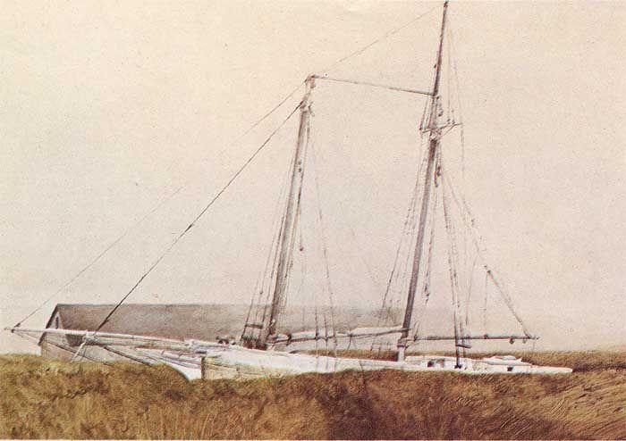 the ship. wyeth