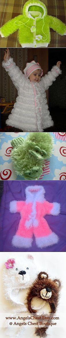 Вязание из травки для детей разных изделий. Идеи