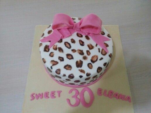 Leopard cake by elina