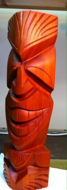 Secret Squirrel Tiki Carving -- Tiki Central