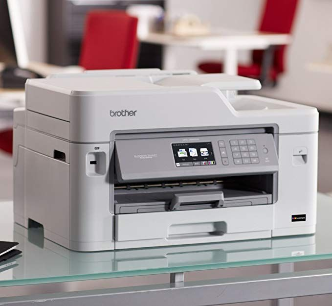 Brother Mfc J5830dw All In One Color Inkjet Printer Wireless Connectivity Automatic Duplex Printing Amazon Dash Rep Best Printers Brother Mfc Inkjet Printer