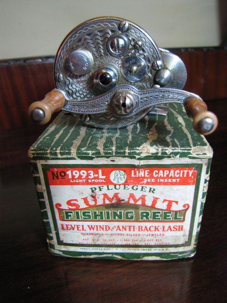 Summet Pflueger Fishing Reel 1993Lwith Original Box