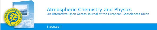 Atmospheric Chemistry and Physics (ACP) is an international scientific journal dedicated to the publication and public discussion of high quality studies investigating the Earth's atmosphere and the underlying chemical and physical processes. It covers the altitude range from the land and ocean surface up to the turbopause, including the troposphere, stratosphere and mesosphere.  www.atmos-chem-phys discuss.net/papers_in_open_discussion.html