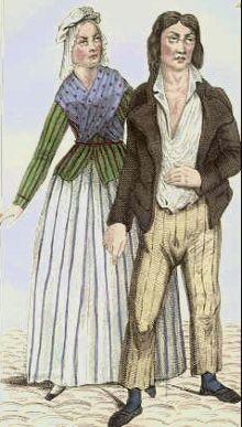 Image result for sans culottes