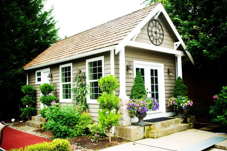 17 best images about garden shed on pinterest gardens for Craftsman style storage sheds