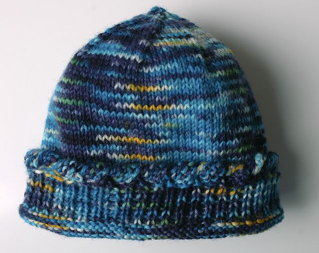 Baby Hat Knitting Pattern Sock Yarn : 1000+ images about Knit Baby Hats on Pinterest