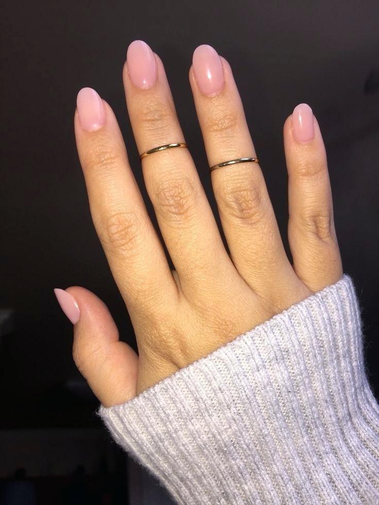 Short Almond Acrylic Nails Round Best Acrylics Nail Ideas Proartcat Ovale Nagels Nagels Natuurlijke Acrylnagels