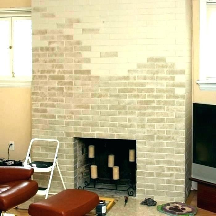 Most Up To Date Photos Old Brick Fireplace Ideas Painted Brick Fireplace Before And After Painted Fireplace Brick Smoked Oyst