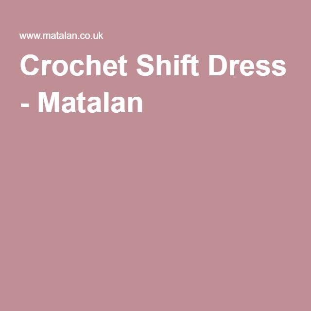 Crochet Shift Dress - Matalan