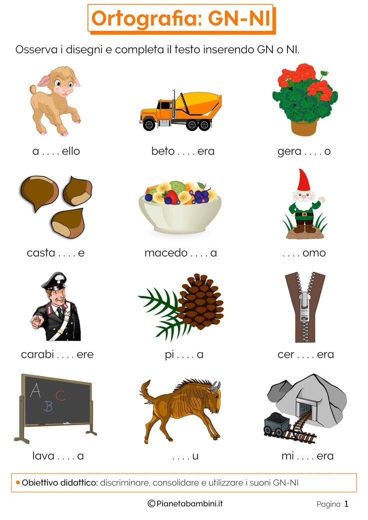 1102 best terza italiano images on pinterest for Parole capricciose esercizi