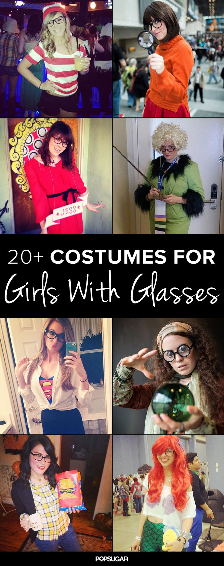 24 Costume Ideas For Girls With Glasses
