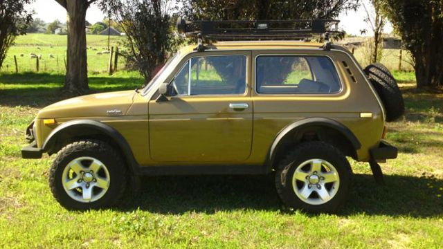 Rare Lada Niva 4x4 for sale on Ebay                                                                                                                                                                                 Más