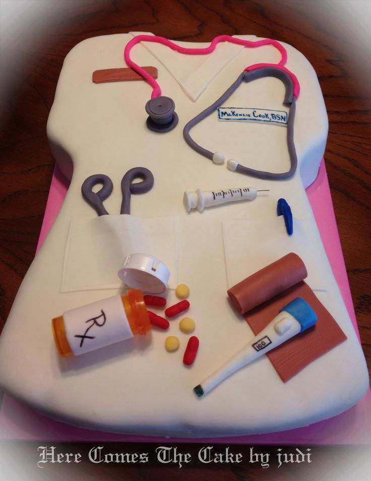 Nursing Cake Decoration Ideas : 147 best images about Medical School Themed Graduation Party on Pinterest Grad parties ...