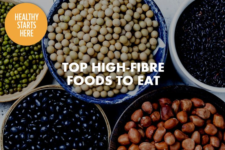 Most Canadians consume only half the daily recommended intake of fibre. Try adding these high-fibre foods to your diet for a healthy digestive tract.