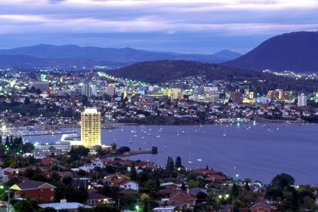Hobart, capital of Tasmania