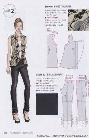 Блузка женская - Страница 2 - Форум о шитье и рукоделии
