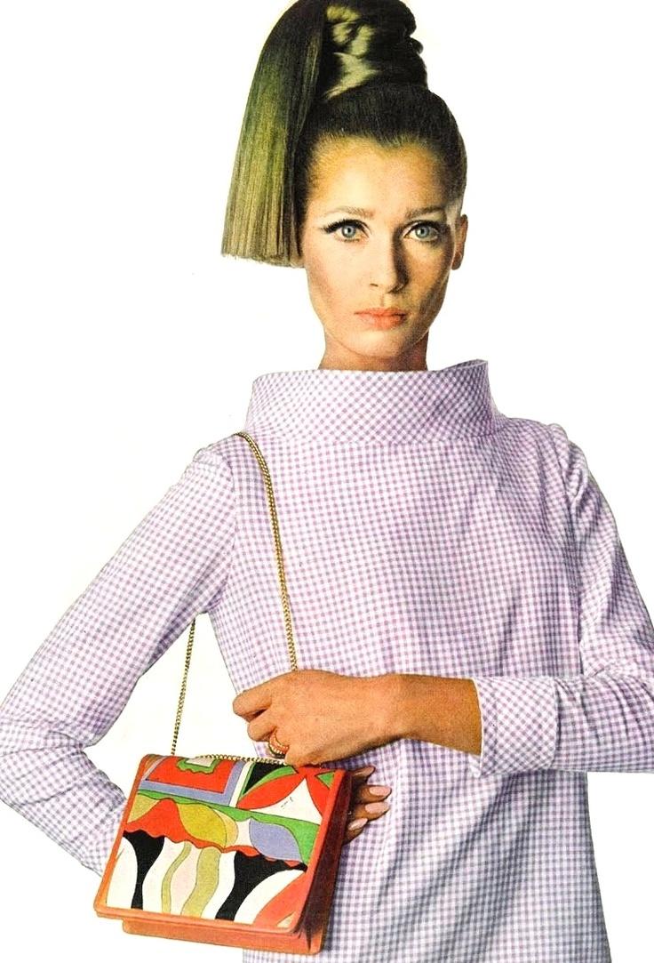 Emilio Pucci purse bag 1966