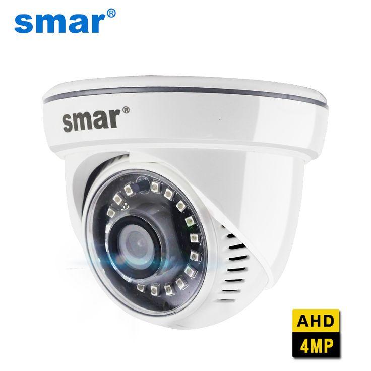 Smar AHD 4MP Security Camera Indoor Full HD Night Vision Dome Camera 18pcs Nano IR Led. Click visit to buy