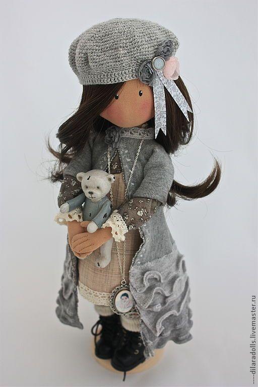"""Коллекционные куклы ручной работы. Ярмарка Мастеров - ручная работа текстильная кукла """" EMILY"""". Handmade."""