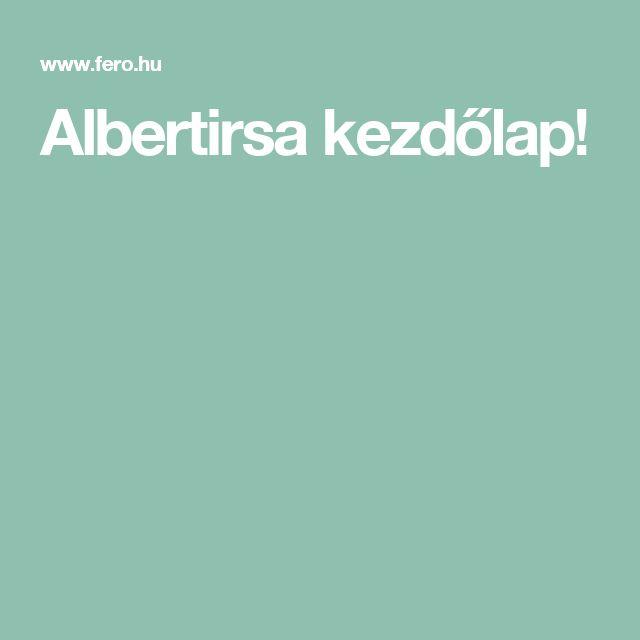 Albertirsa kezdőlap!