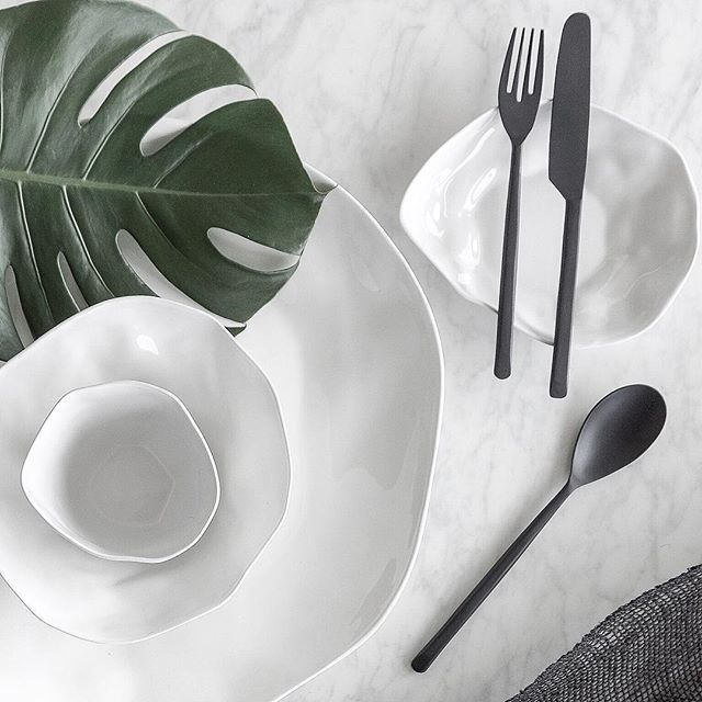 Ceramic flat lay styling and photography by Justine Ash