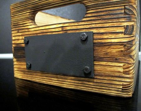 Industriální nábytek z vodovodních trubek