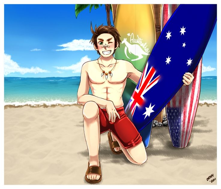 Axis Powers: Hetalia, Australia