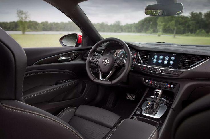 2018 Buick Regal Interior Design