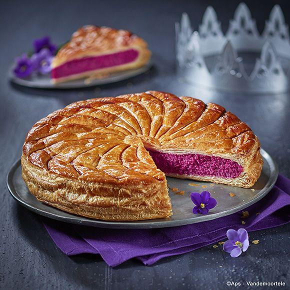 #Galette à la #violette