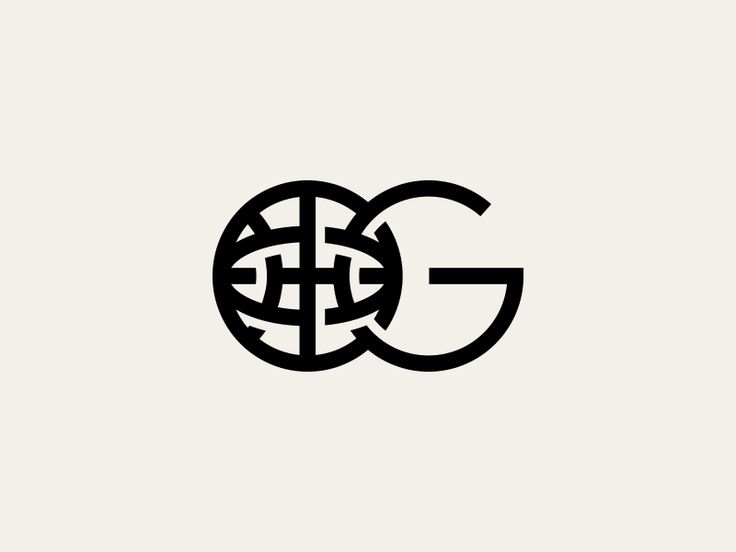 G And Globe Logo Mark