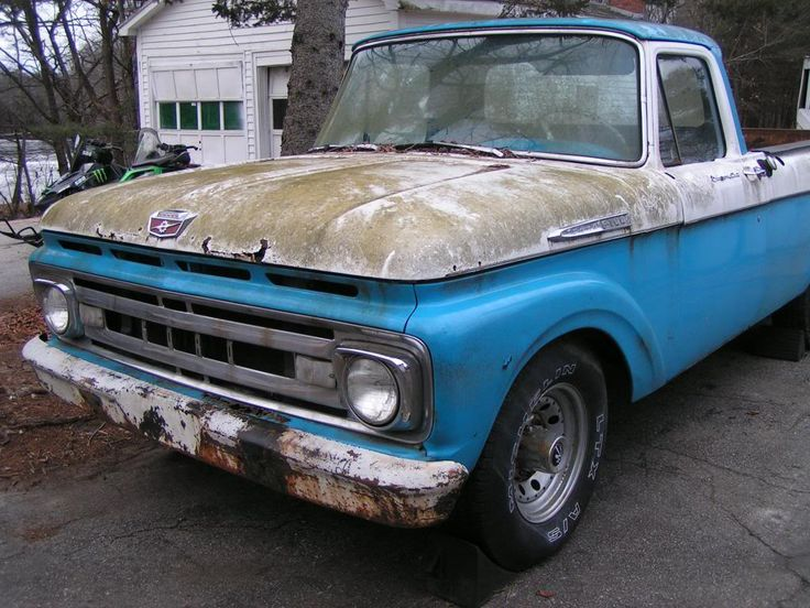 1963 ford f250 for sale craigslist | 1961 Ford F100 ...