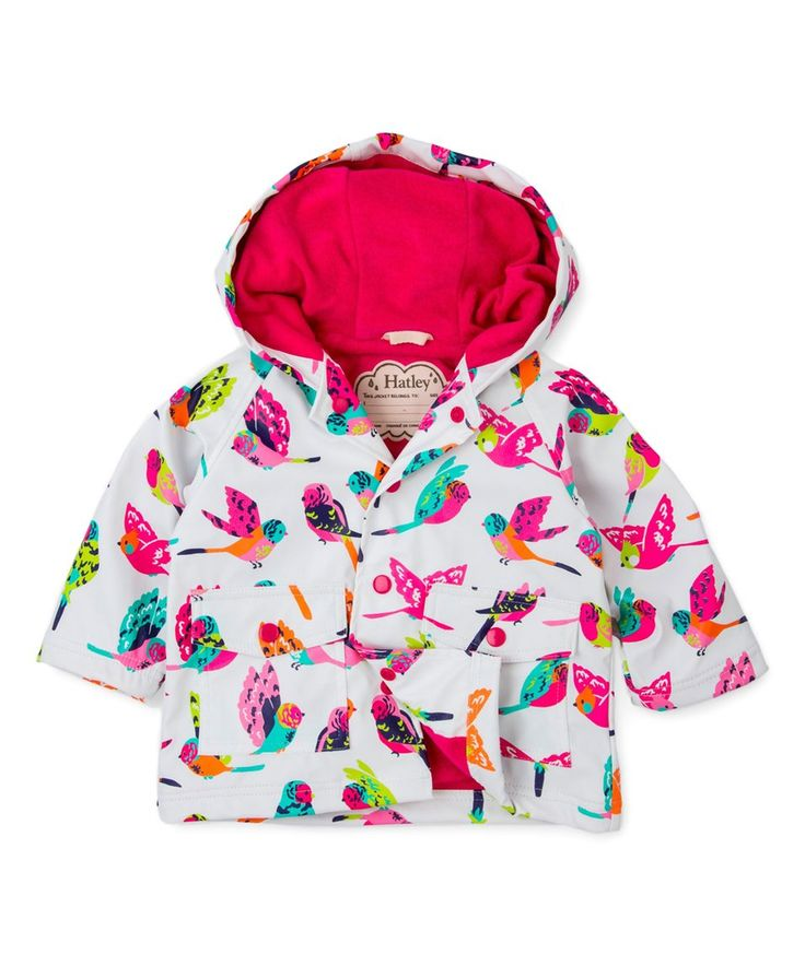 Take a look at this White & Pink Bird Jacket - Infant & Toddler today!
