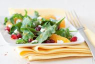 Orange and Mesclun salad
