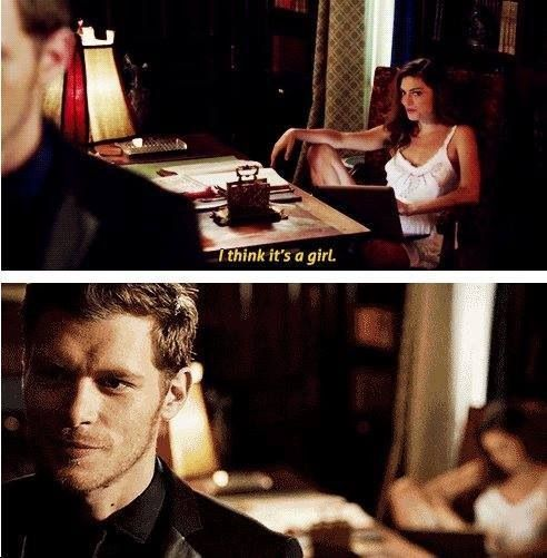 The originals klaus and haley