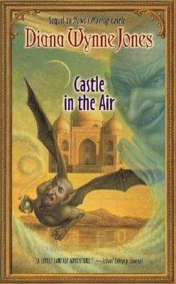 Book 2 in Howl's Castle Series by Diana Wynne Jones:  Castle in the Air.  (My favorite Author of all time, sad to see her go)