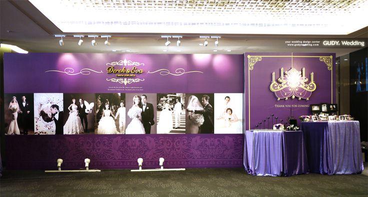 GUDY Wedding 婚禮設計 - 婚禮佈置♥晶華酒店*紫色夜店派對