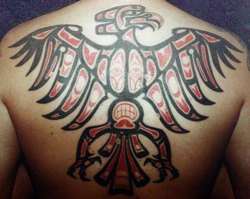 Best 25 eagle back tattoo ideas on pinterest badass for Aztec tattoo shop phoenix az