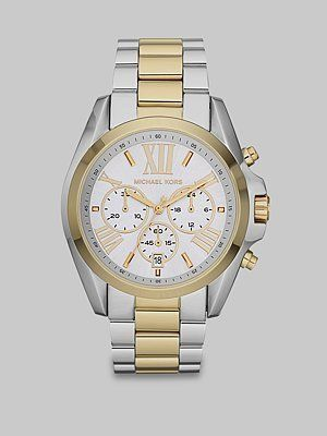 17 best images about misc rose gold markers and gold and silver watches for women michael kors women s mk5627 bradshaw gold silver watch