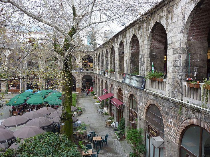 """* Bursa, Turquia *  """"Koza Han (Bazaar de Seda)""""."""