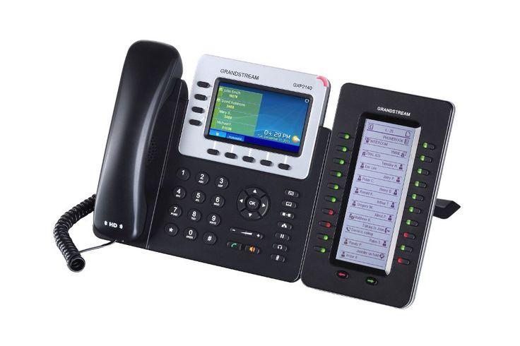 Grandstream GXP2140 GXP2140 GXP2140 обеспечивает превосходное HD-качество аудио, большой набор передовых функций телефонии, персонализированную информацию и настраиваемую службу приложений, автоматизированную инициализацию для упрощенного использования, продвинутую защиту безопасности и широкую совместимость с большинством SIP-устройств и ведущих платформ SIP/NGN/IMS других производителей. GXP2140 совместим с модулем расширения GXP2200EXT, что обеспечивает быстрый и простой доступ к максимум…