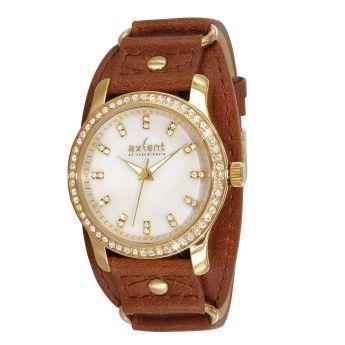 Original Reloj Swarovski Dorados. Axcent of Scandinavia  http://www.tutunca.es/reloj-dorado-mujer-swarovski