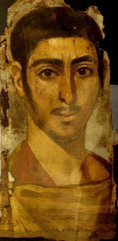 A Young Man, Tanis, ca AD 230 (Oxford, Ashmolean Museum, AN 1896-1908 E3755)…