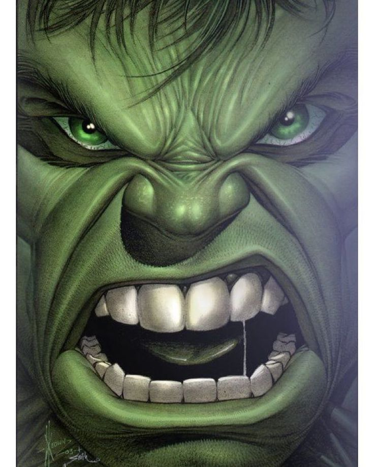 You made him angry 😳 #hulk #marvel