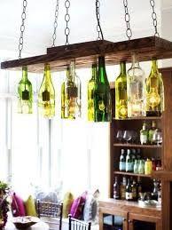 Resultado de imagen para lamparas de vidrio reciclado                                                                                                                                                      Más